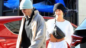 Justin und Hailey Bieber sind megalässig in L.A. unterwegs!