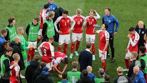 Dänisches Team wollte nur mit Eriksen-Update weiterspielen