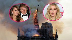 Feuer-Horror: Stars reagieren auf Notre-Dame-Katastrophe