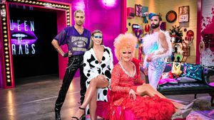"""Aria und Vava: So privat war Heidi Klum bei """"Queen of Drags"""""""