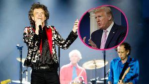 Wegen Musik: Die Rolling Stones drohen Trump mit einer Klage