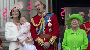 Die royale Familie 2016 in London