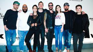 """Die """"Sing meinen Song""""-Crew bei der Pressekonferenz in Berlin"""