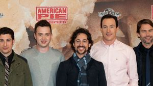 Jason Biggs, Chris Klein, Thomas Ian Nicholas und Seann William Scott