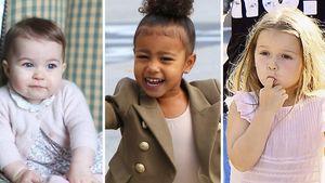 North West, Prinzessin Charlotte und Harper Seven Beckham