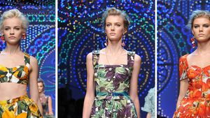 Fashion Week: Junges Gemüse bei Dolce & Gabbana