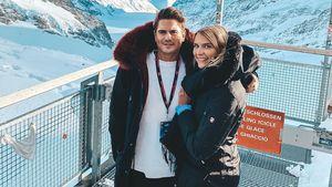 Halbes Jahr ein Paar: Dominik Bruntner glücklich mit Jolina