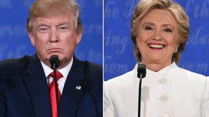 Donald Trump und Hillary Clinton in Las Vegas