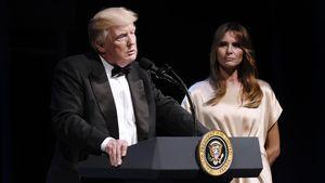 Donald Trump und Melania Trump bei einer Gala
