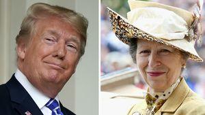 Kein Trump-Diss? Das passierte wirklich mit Prinzessin Anne