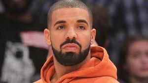 Drake bei einem Baskettball-Match in L.A.