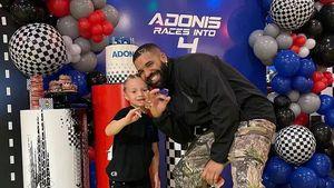 Zum Geburtstag: Drake teilt seltenes Foto mit Sohn Adonis