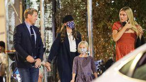 Patchwork-Glück: Drew Barrymore mit Ex und Kids unterwegs