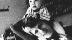 David Bowie mit dem kleinen Duncan Jones