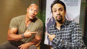 "Dwayne ""The Rock"" Johnson und Lin Manuel Miranda"
