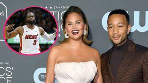 Autsch: Basketballer fliegt auf Chrissy Teigen & John Legend