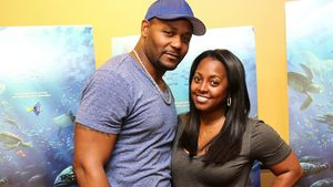 Ed Hartwell und Keshia Knight Pulliam in Atlanta