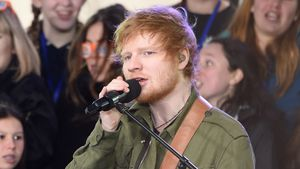 "Ed Sheeran in der NBC Talkshow ""Today"""