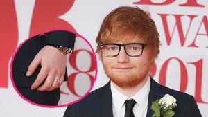 Ed Sheeran mit Ring: Die Wahrheit über die Hochzeitsgerüchte