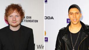 Ed Sheeran und Andreas Bourani