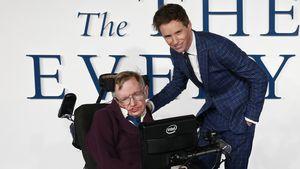 Eddie Redmayne: So war Stephen Hawking (†76) vor seinem Tod