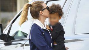 Herzig! Ellen Pompeo knutscht ihren Sohn Eli Christopher ab