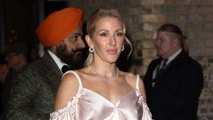 Mode-Fail? Ellie Goulding im rosafarbenen Pyjama bei Event