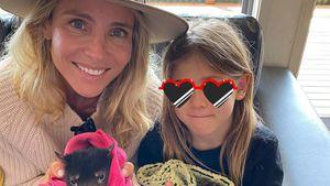 Elsa Pataky und Kids kuscheln mit australischen Wildtieren