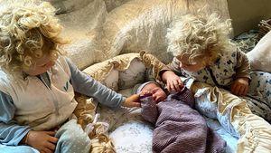 So reagierten Emil-Ocean und Yoko Kusmagk auf Baby Merlin!