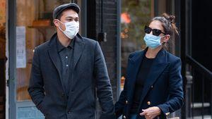 Katie Holmes und ihr Emilio halten Händchen in New York
