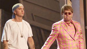 Eminem beichtet BFF Elton John: Beim 1. Treffen auf Drogen!