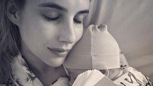 Emma Roberts zeigt zum ersten Mal das Gesicht ihres Babys