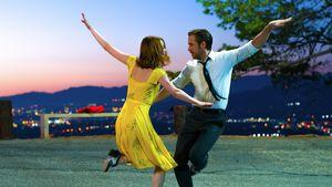 "Emma Stone und Ryan Gosling in ""La La Land"""