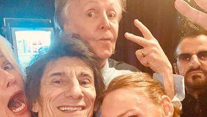 Legendäres Foto: Paul McCartney & Ringo Starr wiedervereint!