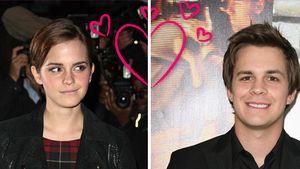 Zieht Emma Watson mit Johnny Simmons zusammen?