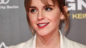 Emma Watson freut sich