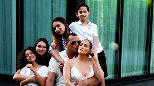 Nicht nur J.Lo: A-Rod teilt Foto mit seiner Patchwork-Family