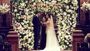 Wunderschöne Braut! Emmy Rossum hat geheiratet