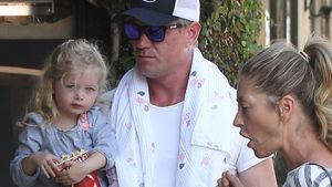Eric Dane, Rebecca Gayheart und Billie Beatrice Dane