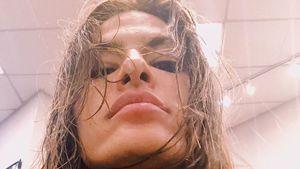 Von wegen Luxus: Eva Mendes geht wirklich zu Friseur-Kette