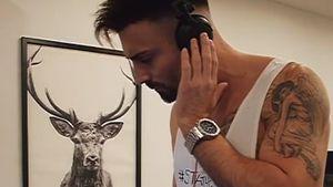 Live auf Insta: Bachelorette-Fabiano wird zum Wohnzimmer-DJ!
