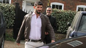 Fadi Fawaz und George Michael in London