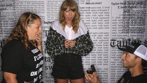 Taylor Swift völlig verdutzt: Heiratsantrag bei Fan-Treffen!