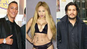 Farid Bang, Sarah Joelle Jahnel und Francisco Medina