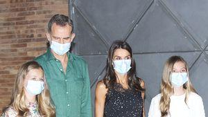 König Felipe und Letizia sind mit Töchtern auf Spanientour