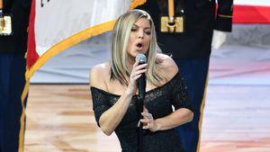 Nach schiefem Nationalhymnen-Flop: Fergie entschuldigt sich!