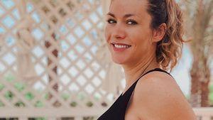 Nach Geburt: Fiona Erdmanns Baby hat noch keinen Namen
