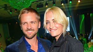 Florian Fischer und Sarah Connor beim Dreamball 2015