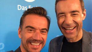 Selten: Florian Silbereisen und Kai Pflaume im Selfie-Wahn