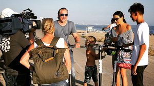 Größer als Verona: San Diego Pooth überragt seine Mutter